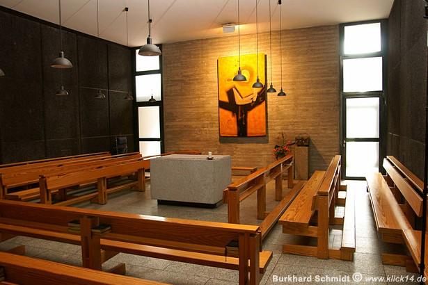 Die Kapelle in der Krypta der Gedenkkirche